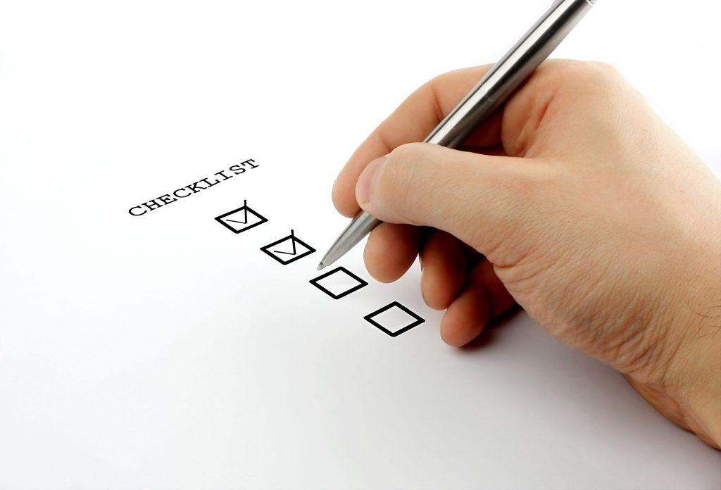 Checklist webshop beginnen
